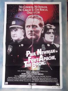 Vintage Movie Posters   Fort Apache the Bronx,Vintage Movie Poster,Paul Newman,Ed Asner,'81