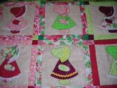 Learn to create your own Sun Bonnet Sue quilt block at Jenny's Sewing Studio. Call 410-677-3461 to enroll.