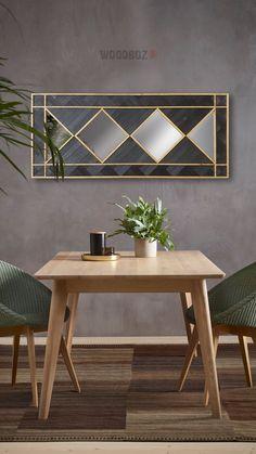 WoodBlack - Black Mamba II Wood Mirror, Black Mamba, Dining Table, Furniture, Home Decor, Decoration Home, Room Decor, Dinner Table, Home Furnishings
