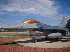 F-16C Falcon on display at Buckley Air Force Base, Aurora, Colorado