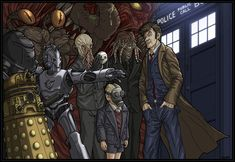 Doctor Who by slightlytwisted.deviantart.com on @deviantART
