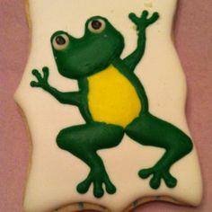 frog cookies Frog Cookies, Birthday Ideas, Instagram, Design