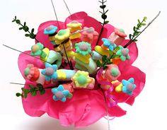 bouquet de fleur en bonbon