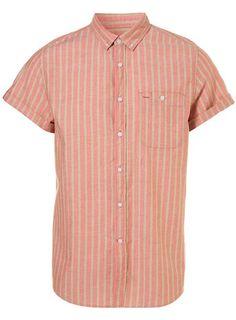 Pink Jazz Stripe Shirt Top Man