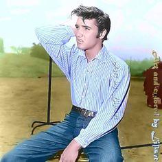 King Creole, Young Elvis, Blue Hawaii, George Vi, Elvis Presley, Levis, Rock N Roll, Love Him, Mens Tops