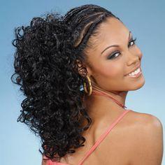 Marvelous Black Hair Braids Curls And Girl Hair On Pinterest Hairstyles For Men Maxibearus