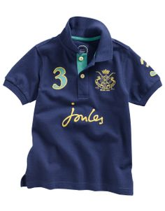 Quintessentially English - Joules Kids Polo Shirt