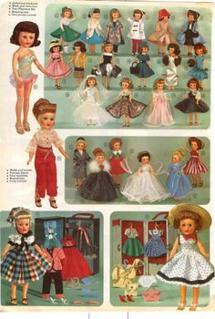 1958 AD 13 Page Doll Baby American Character Horsman Toni Arranbee Betsy Wetsy