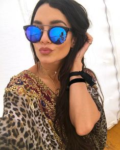 ad04015f247d1 Vanessa Hudgens  Throwback to fun times in the desert wearing one of my  fave accessories of the weekend-  diffeyewear.