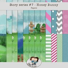 Oscraps.com :: Shop by Category :: All New :: SoMa Design: Honey Bunny Kit Honey Bunny, Scrapbook, Kit, Paper, Shop, Design, Design Comics, Scrapbooks