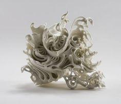 Katsuyo Aoki's Stunningly Intricate Porcelain Skulls - Beautiful/Decay Artist & Design