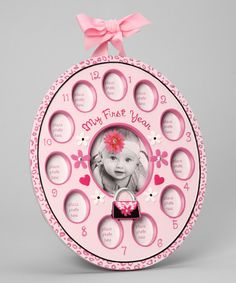 Look at this Pink Diva 'My First Year' Frame on #zulily today!