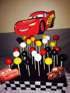 Cake pop stand by SweetTreatDisplays on Etsy, $35.00