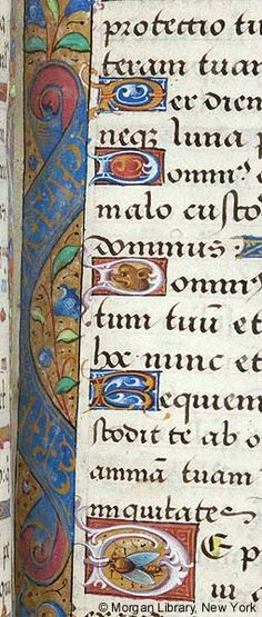 Book of Hours, MS H.5 fol. 104r - Images from Medieval and Renaissance Manuscripts - The Morgan Library & Museum