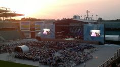 ChristDay in Tallinn, Estonia 28.7.2012.