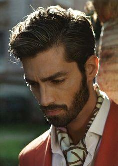 Maximiliano Patane #facial #hair #grooming