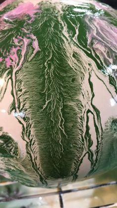detail mocha diffusion ceramic sculpture VIVI Ginsberg Smith Studios