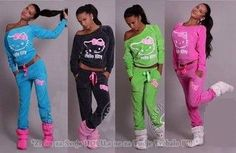 awesome 2014 Autumn New Women Hello Kitty Printed cotton Sweatshirts set Hoodies Cardigans,Sport Suit Women,Tracksuits hoodies and pants|21a636d9-54be-41d3-899c-80547b1ea638|Hoodies & Sweatshirts