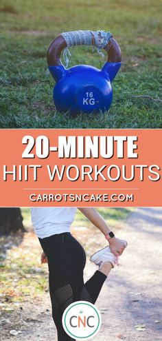 You can fit in a quick workout and make it count! This quick 20 minute workout will have your heart pumping! Hiit Training Workouts, 20 Minute Hiit Workout, Hiit Workout Routine, At Home Workouts, Quick Workouts, Exercise Routines, Workout Exercises, Body Workouts, Workout Challenge