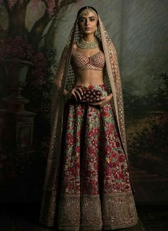 Photo By Sabyasachi Mukherjee - Bridal Wear Indian Bridal Lehenga, Indian Bridal Wear, Indian Wedding Outfits, Indian Wear, Indian Outfits, Eid Outfits, Indian Weddings, India Fashion, Asian Fashion