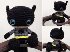 Amigurumi Batman by SanneMarije.deviantart.com on @DeviantArt