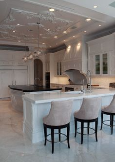"""Weston-Ft. Lauderdale, Clean Classical Kitchen 