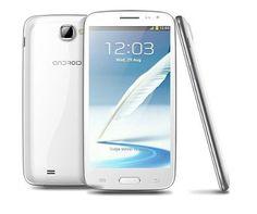 Smartphone clon S4 de 5″ MTK6589 1.2GHZ Quad Core con 1GB RAM + 4GB, Cámaras de 8Mpx + 3Mpx, GPS y Android 4.1.2, Blanco