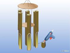 Make a Bamboo Wind Chime - wikiHow