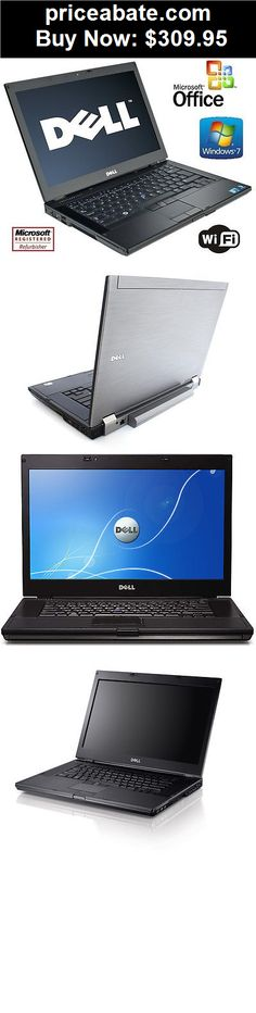 """Computers-Tablets-And-Networking: 15"""" Dell Latitude E6510 Laptop Windows 7 Core i5 8GB RAM 1TB Notebook +MS Office - BUY IT NOW ONLY $309.95"""