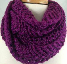 lacy lavender blue knit scarf caron simply soft