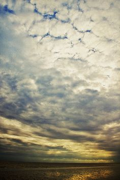 Impression Clouds Print By Angela Doelling Ad Design Photo And Photoart
