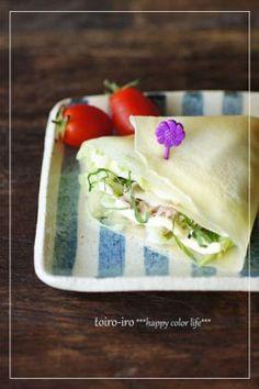 「キャベツナクレープ」トイロ | お菓子・パンのレシピや作り方【corecle*コレクル】