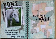 CTMH Wildwood Crush Book.  Scrap It With A Song.  Scrappy horses.ctmh.com