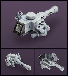 by Red Spacecat Lego Mecha, Lego Robot, Lego Star Wars, Nave Lego, Instructions Lego, Minifigures Lego, Lego Cars, Figurine Lego, Arte Steampunk