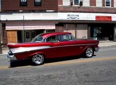 57' Chevy Bel Air