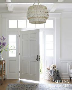 10 Foyers with a Coastal Style - Design Chic Design Chic Estilo Colonial, Spanish Colonial Homes, Foyer Decorating, Decorating Games, Atlanta Homes, Modern Rustic, Modern Farmhouse, Modern Cottage, Farmhouse Ideas
