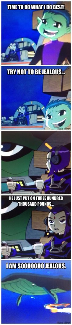 Raven is my hero.
