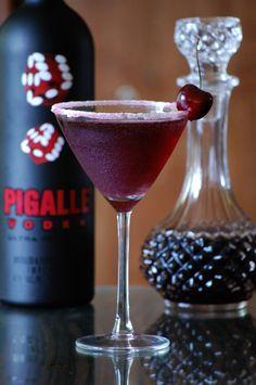 midnight berry cocktail pigalle vodka