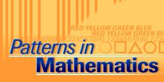 Mathematics website - logic patterns, number patterns and word patterns. Word Patterns, Number Patterns, Logic Problems, Math Practices, Some People Say, School Programs, Homeschool Math, Educational Activities, After School