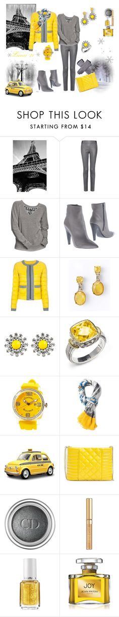 """Untitled #1119"" by lumi-21 ❤ liked on Polyvore featuring Wall Pops!, Thakoon Addition, Old Navy, Vic Matié, Hogan, Ann Taylor, DANNIJO, Judith Ripka, Dooney & Bourke and Dolce&Gabbana"