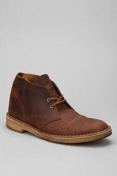 Clarks Waxed Desert Boot