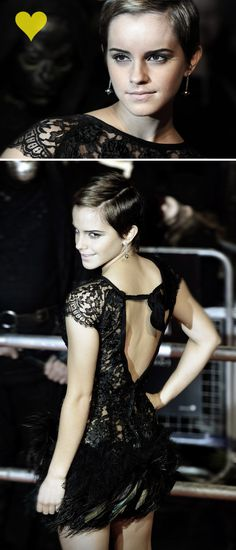 emma watson: I wish I could cut my hair that short and still rock it