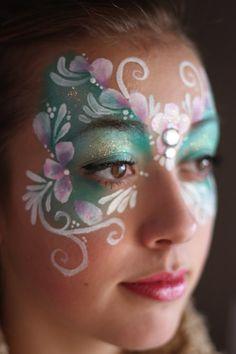 Nadine's Dreams Face Painting Calgary - Makeup Tutorial Over 40 Face Painting Images, Face Painting Flowers, Adult Face Painting, Face Painting Tutorials, Face Painting Designs, Painting For Kids, Tole Painting, Make Up Art, Henna Artist