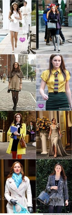 Blair Waldorf Style I love her outfits! Very old styles. Especially her party outfits.