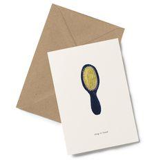 Fint kort fra danske Kartotek. Tekst foran på kortet- sing it loud Dobbelt kort for å skrive på inni. Leveres med konvolutt.