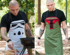 You know what's cooler than chillin' like a villain? Grillin' like a villain, of course. The designers at Haute Mess Threads agreed, and decided to put the