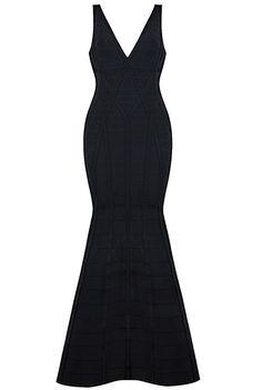Dream it Wear it - Cut Out Mermaid Evening Bandage Dress Black, $187.78 (http://www.dreamitwearit.com/cut-out-mermaid-evening-bandage-dress-black/)