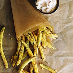 Green Bean Fries with Spicy Mayo | MyRecipes.com