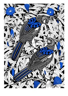 Tui pair in native Tawa tree with invasive convovulus creeper Abstract Sculpture, Sculpture Art, Metal Sculptures, Bronze Sculpture, Maori Patterns, Maori Designs, New Zealand Art, Jr Art, Maori Art