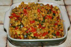 Crockpot Recipes, Diet Recipes, Vegetarian Recipes, Healthy Recipes, Batch Cooking, Fun Cooking, Paella, Food Menu, Food Inspiration